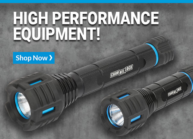 High performance equipment! LED flashlights. Shop Now