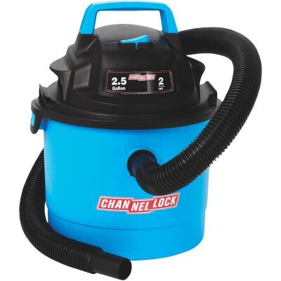 Channellock 2.5 Gal. 2.0-Peak HP Wet/Dry Vacuum