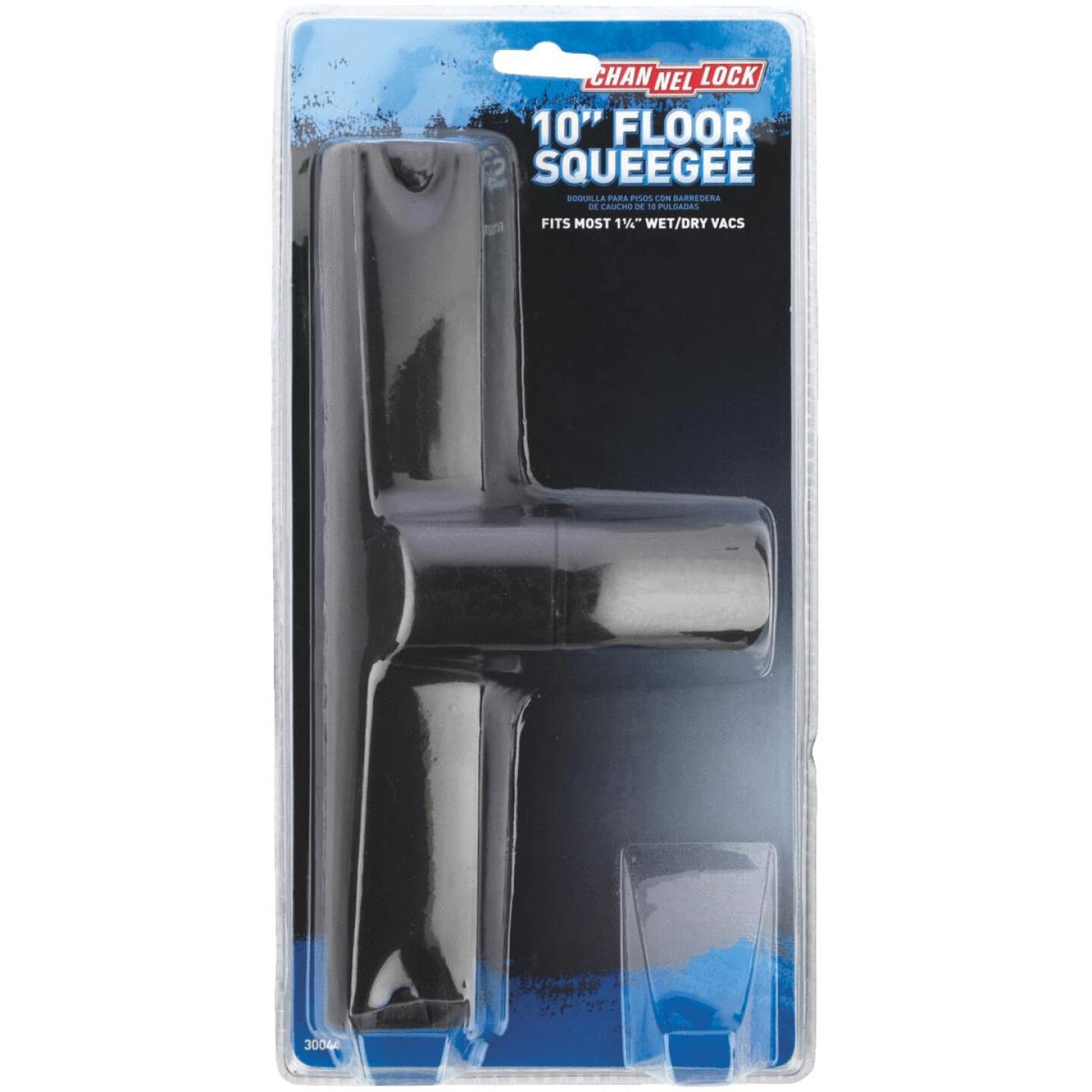 Channellock 1-1/4 In. x 10 In. Black Plastic Squeegee Vacuum Nozzle Image 2
