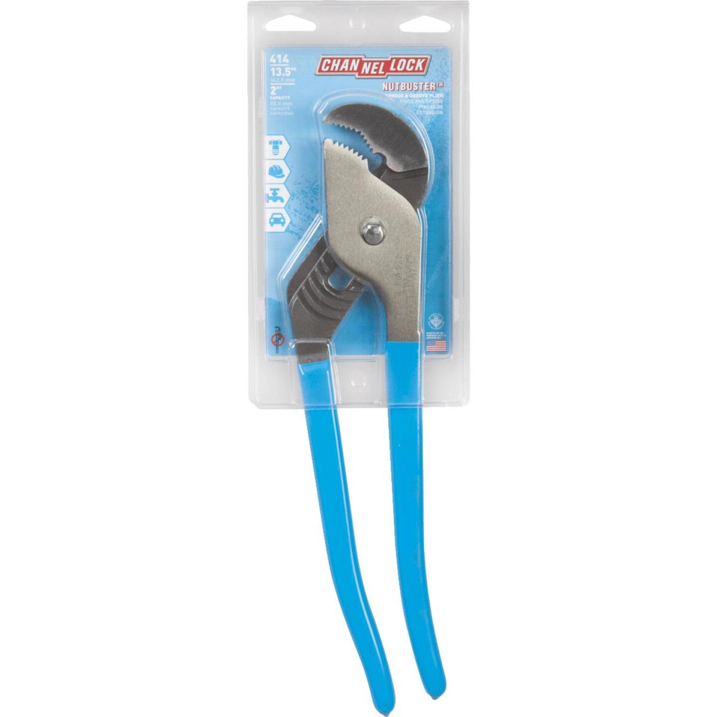 Channellock Nutbuster 14 In. Curved Jaw Groove Joint Pliers Image 2