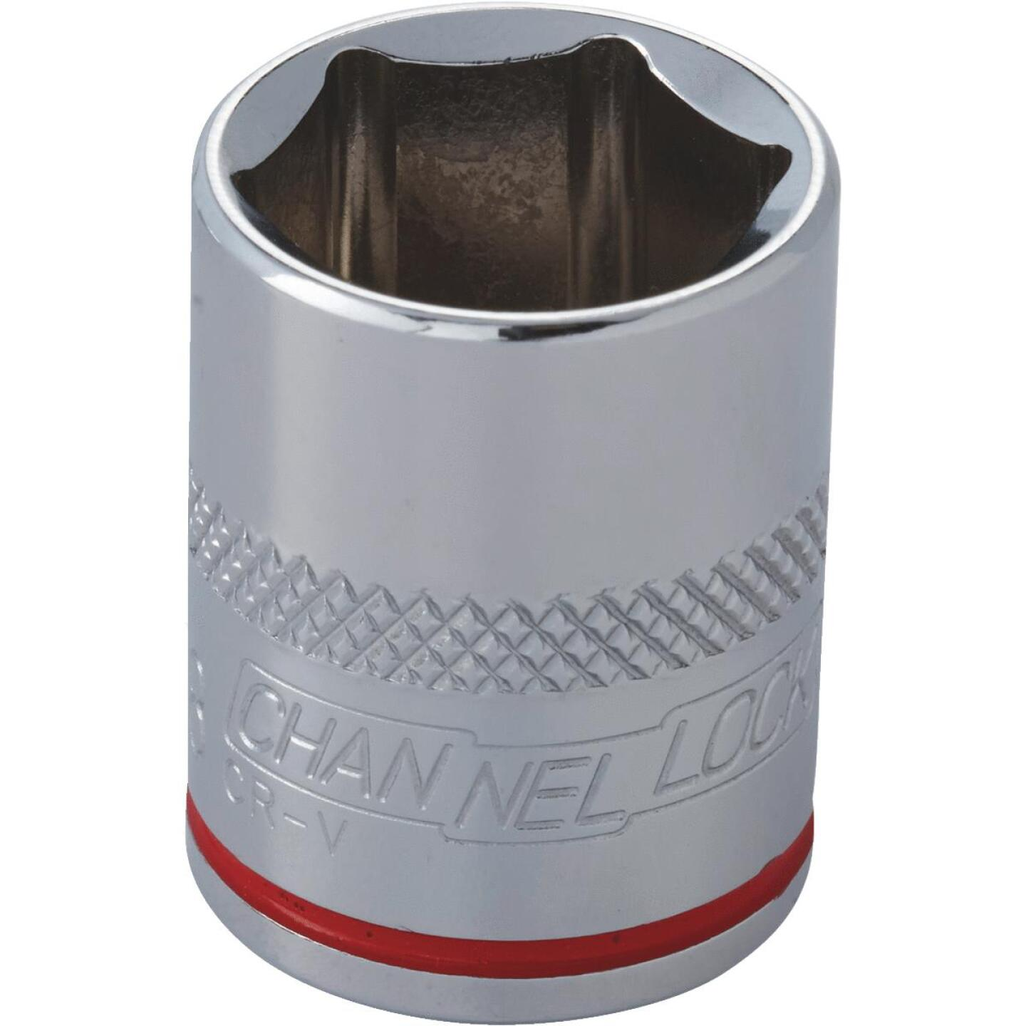 Channellock 3/8 In. Drive 5/8 In. 6-Point Shallow Standard Socket Image 2