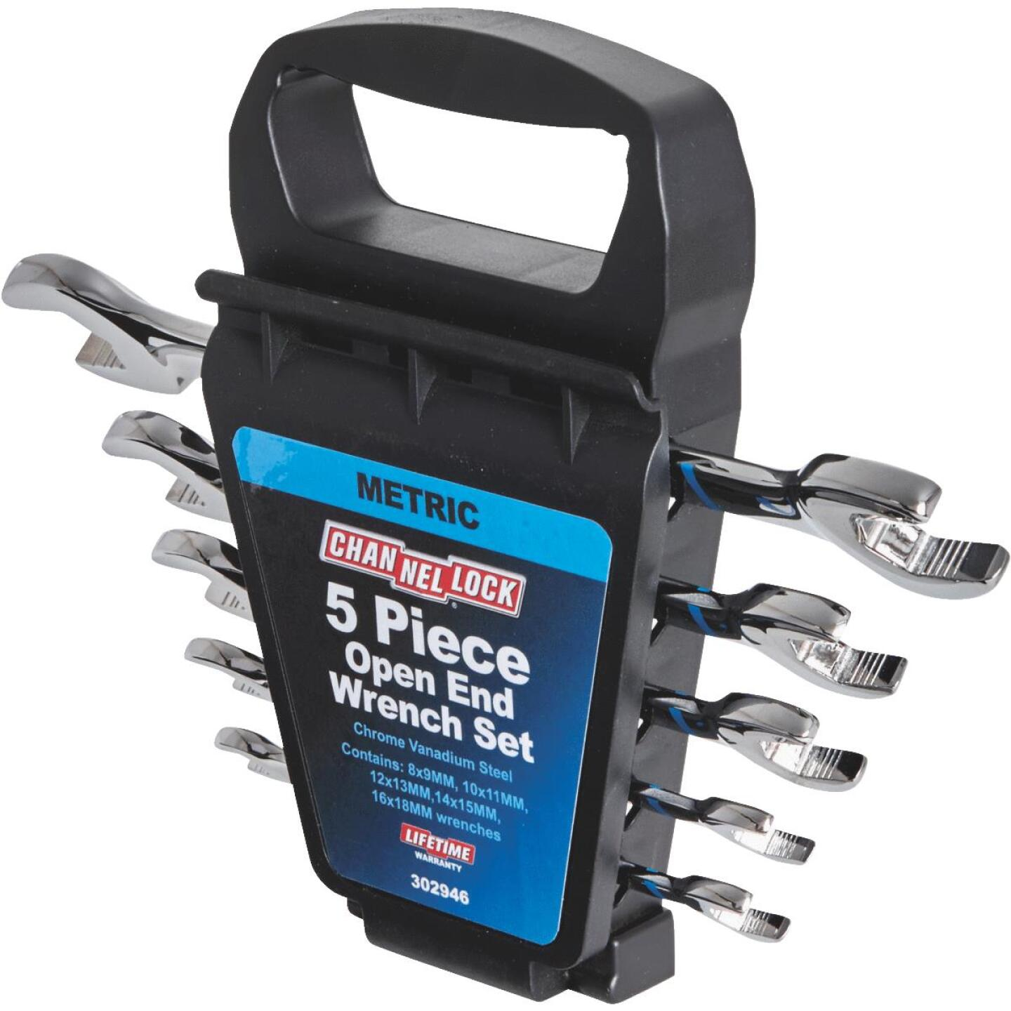 Channellock Metric Open End Wrench Set (5-Piece) Image 3
