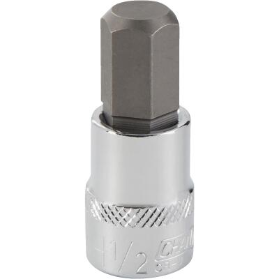 Channellock 3/8 In. Drive 1/2 In. 6-Point Standard Hex Bit Socket