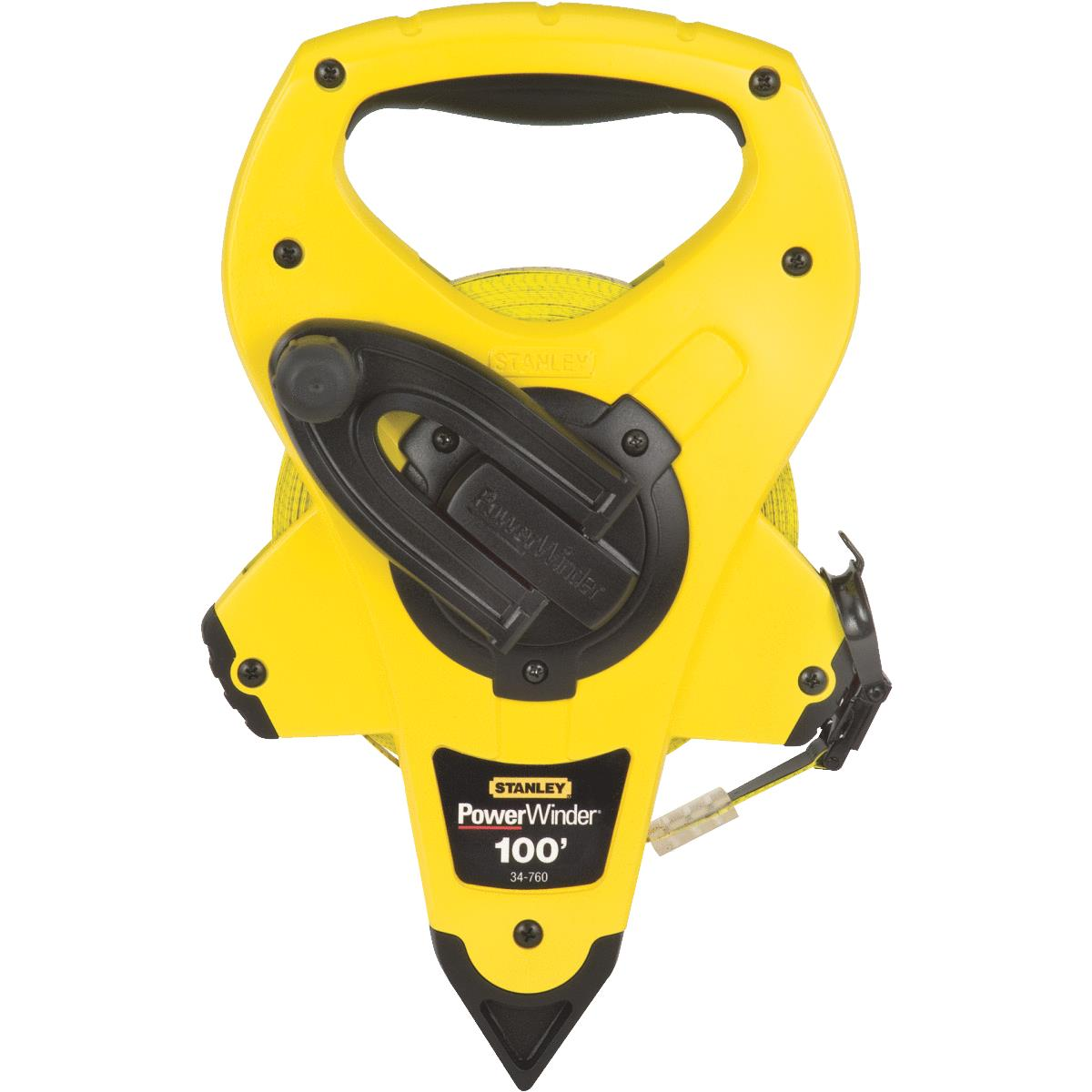 3:1 Gear Ratio 34-762 Powerwinder Tape Measure 300-Ft - Quantity Fiberglass