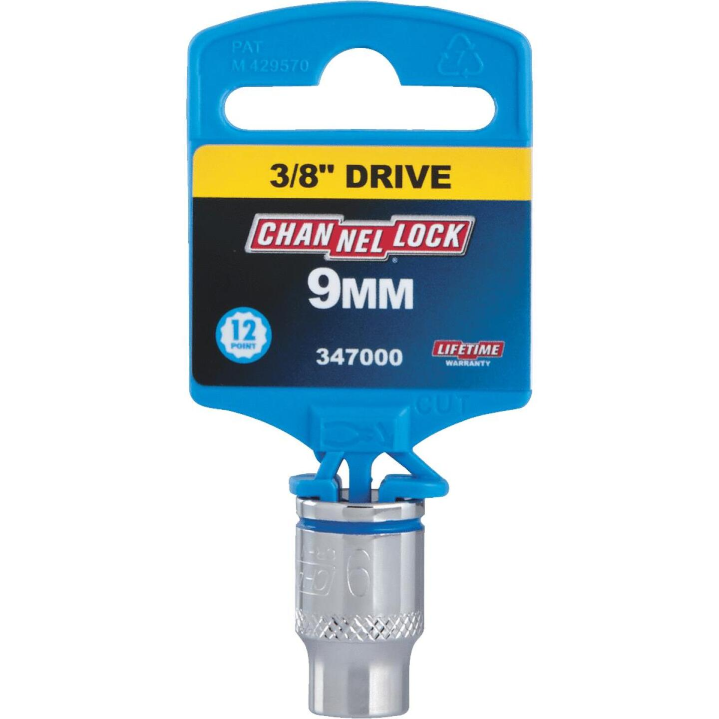 Channellock 3/8 In. Drive 9 mm 12-Point Shallow Metric Socket Image 2