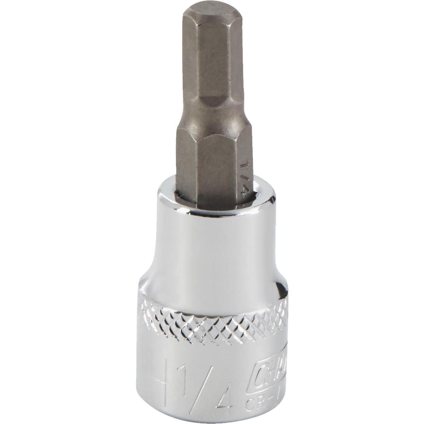 Channellock 3/8 In. Drive 1/4 In. 6-Point Standard Hex Bit Socket Image 1