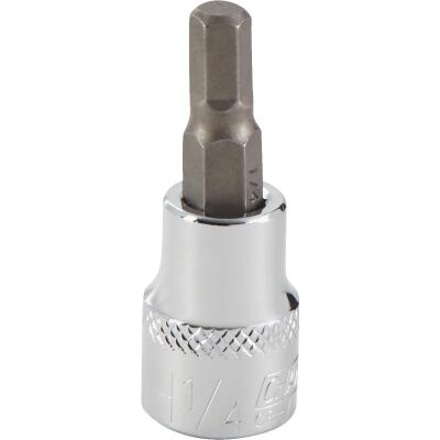 Channellock 3/8 In. Drive 1/4 In. 6-Point Standard Hex Bit Socket